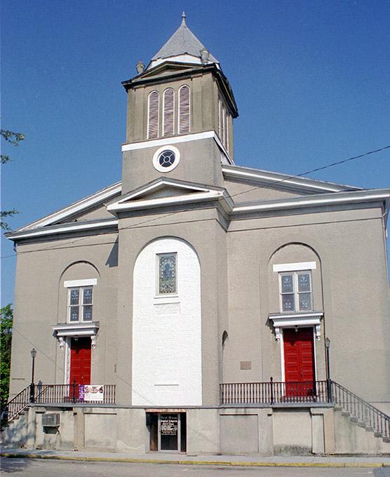 The First African Baptist Church in Savannah