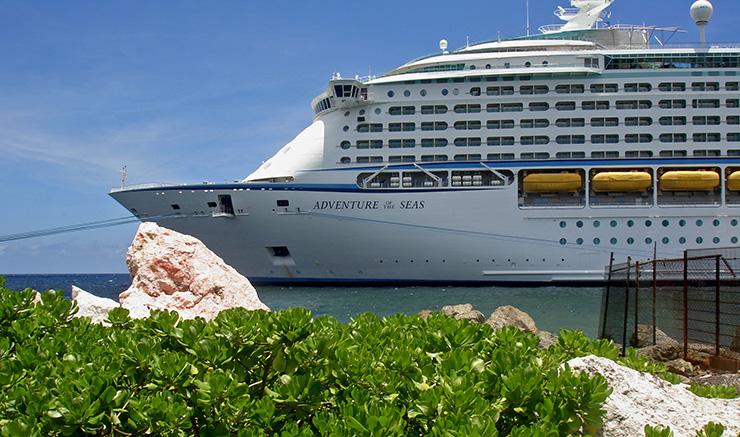 Curacao Transportation, cruise port