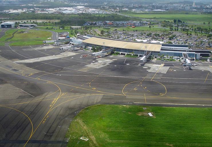 Martinique Aéroport Aime Cesaire