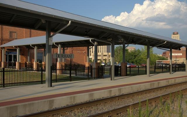 Durham Amtrak Station; credit Smithfl