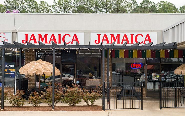 Jamaica Jamaica, Durham Restaurants & Shops