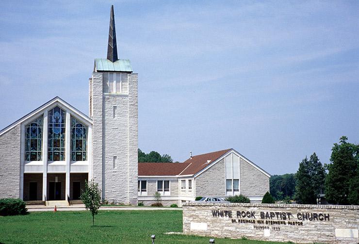 White Rock Baptist Church, Durham