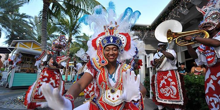 Junkanoo parade on Nassau Festivals