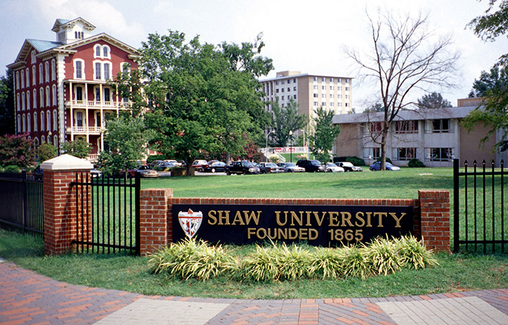 Shaw University, Raleigh Cultural Sites
