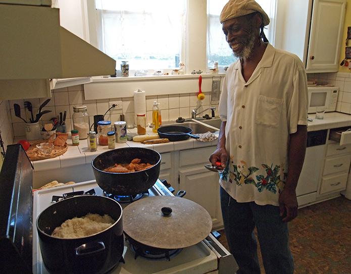 Gordon Nurse chef at Burning Spear, Shreveport Restaurants