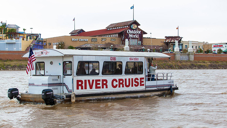 Red River Cruise, Shreveport Transportation
