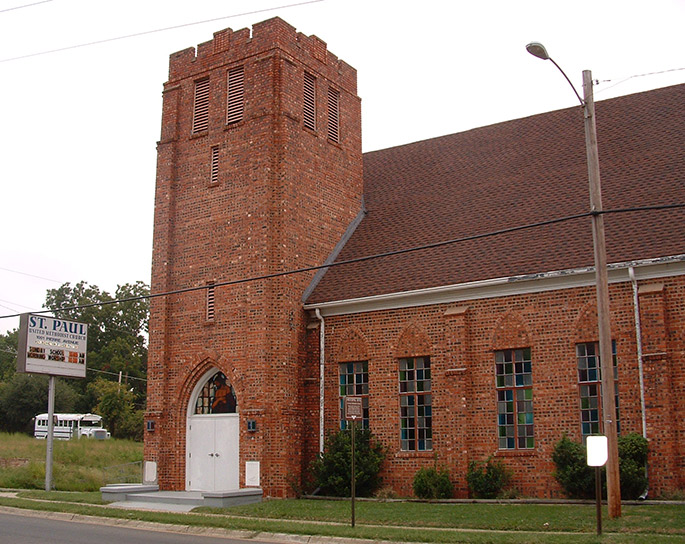 St. Pauls United Methodist Church, Shreveport Places of Worship