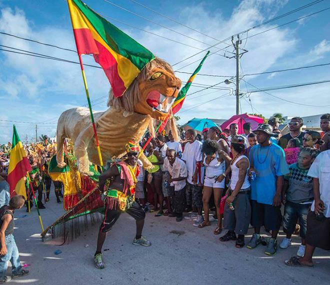 Carnival Road procession in Belize Festivals
