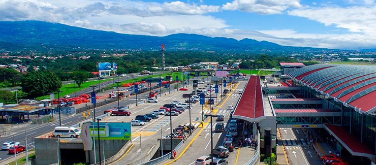 SJO Airport in San Jose, Costa Rica Transportation