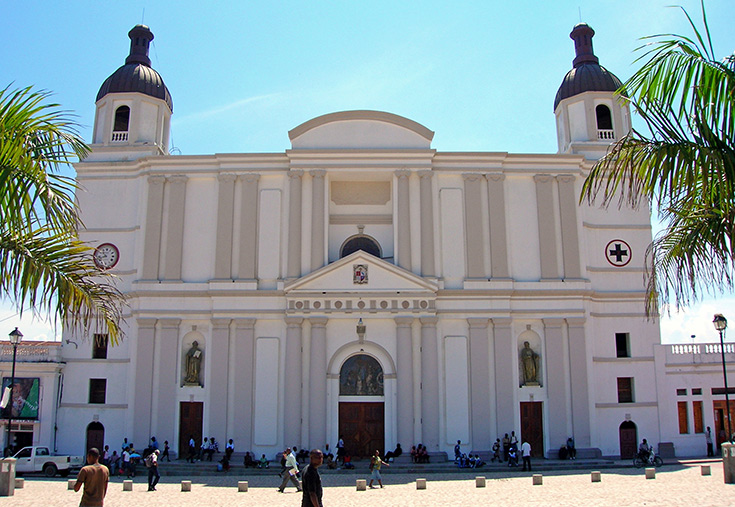 Historic Cathedral in nearby Cap-Haitien, Haiti History