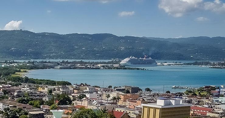 Montego Bay Transportation, cruise ship