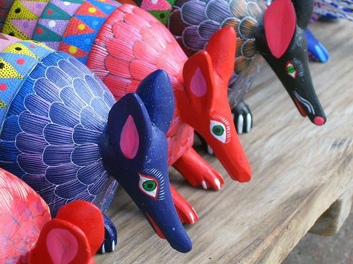 Alebrijas wood carvings