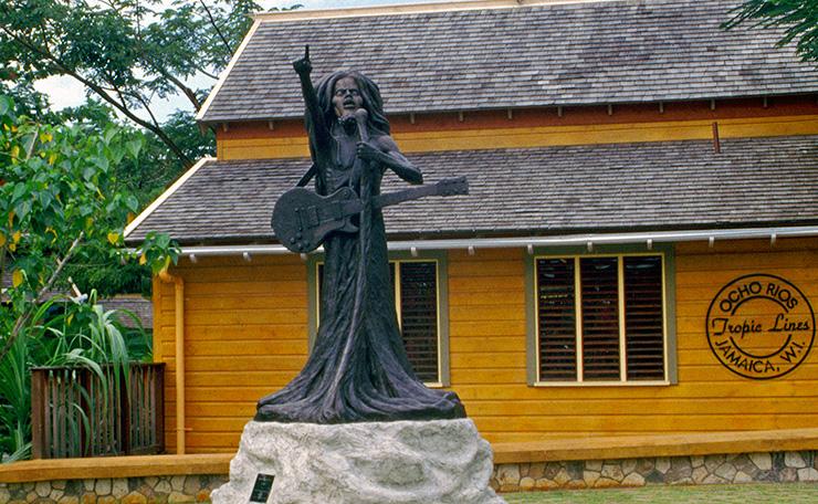 Bob Marley monument, Ocho Rios Attractions