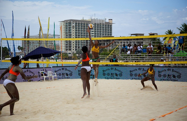 Beach Volleyball, Ocho Rios Beaches