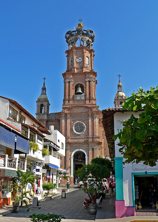 Cathedral of Our Lady of Guadeloupe, Puerto Vallarta History