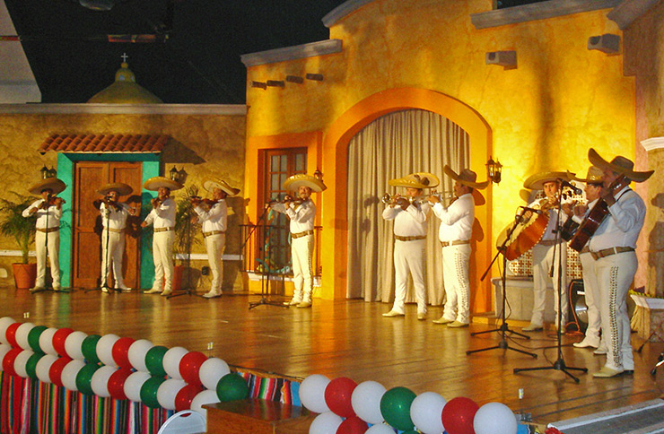 Mariachi band performing in Old Town, Puerto Vallarta