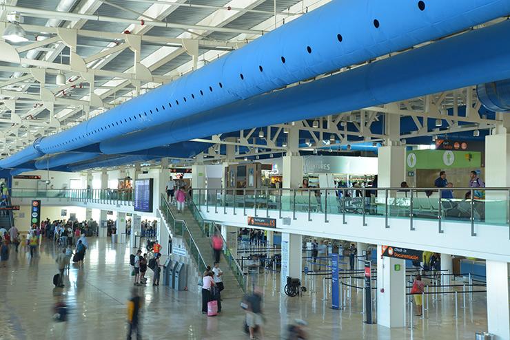 PVR Airport terminal, Puerto Vallarta Transportation