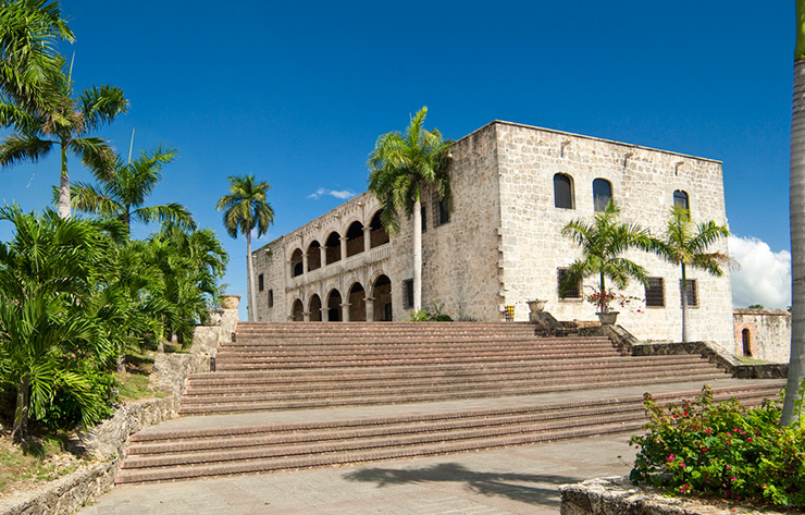 Alcazar de Colon in Santo Domingo