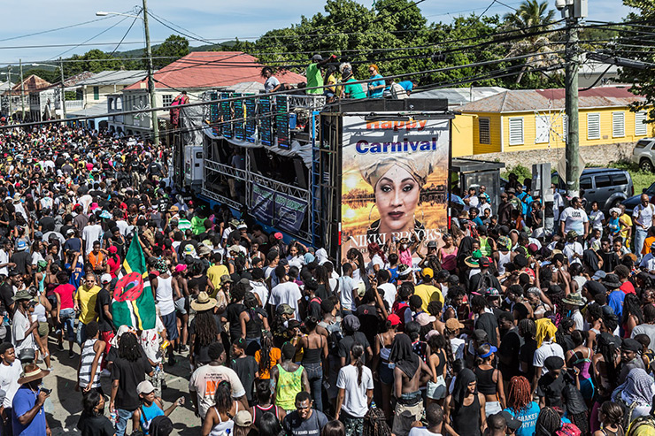 St. Thomas Carnival crowd