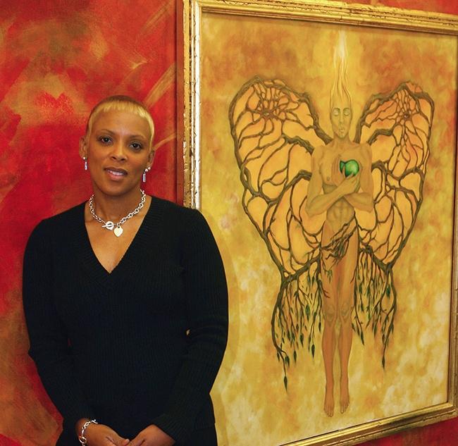 Monica Hayslip at Little Black Pearl Academy, Chicago