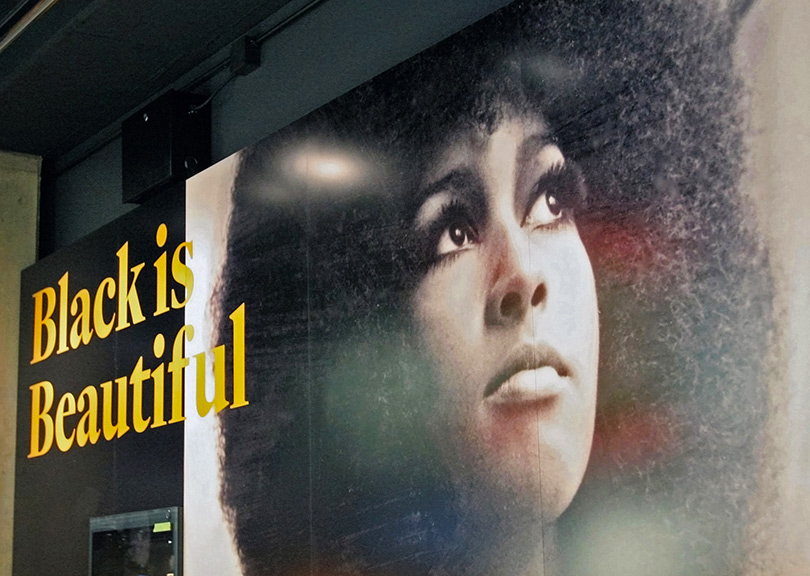 Black Is Beautiful exhibit at National Museum of African American History & Culture