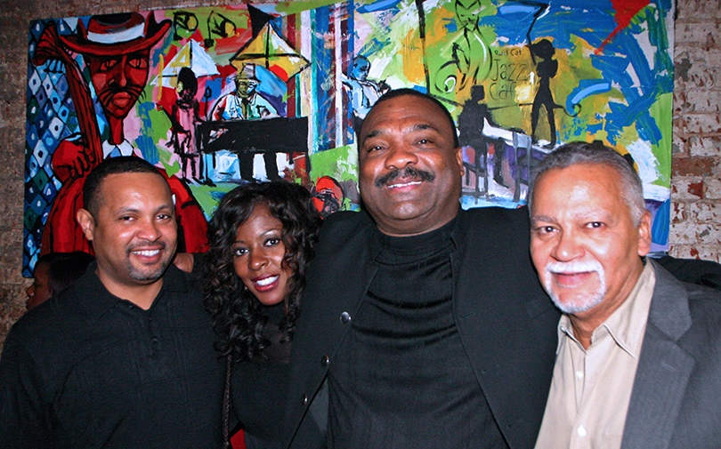 Althea Gibson, Ronny Laws and Joe Sample meet-up at the Red Cat Jazz Cafe, Houston