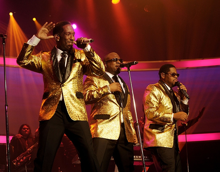 Boyz II Men performing at The Mirage, Las Vegas