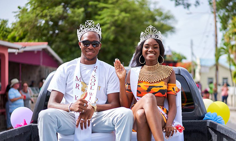 Culturama pageant King & Queen of Nevis