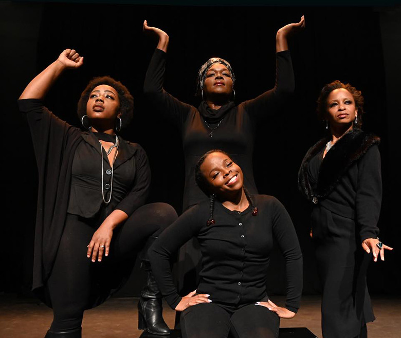 Phoenix Black Theatre Troupe performing Simply Simone