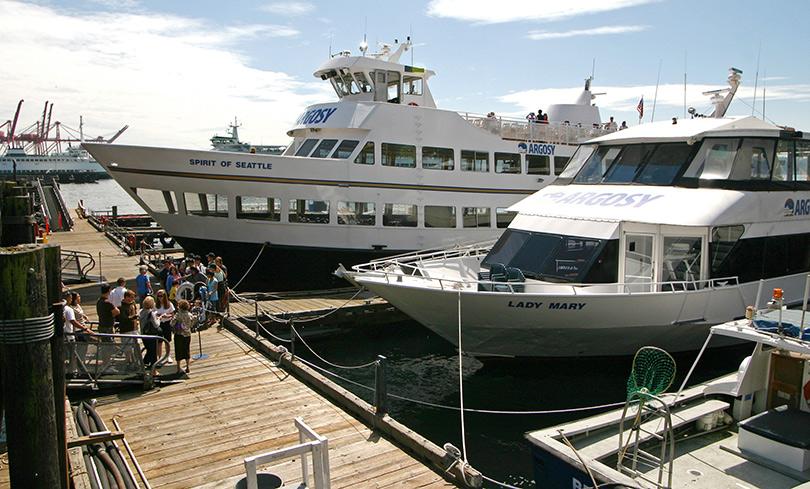 Argosy siteseeing ships in Seattle