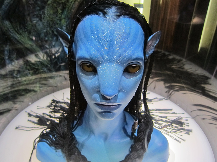 Neyteri from touring Avatar exhibit at the Museum of Pop Culture