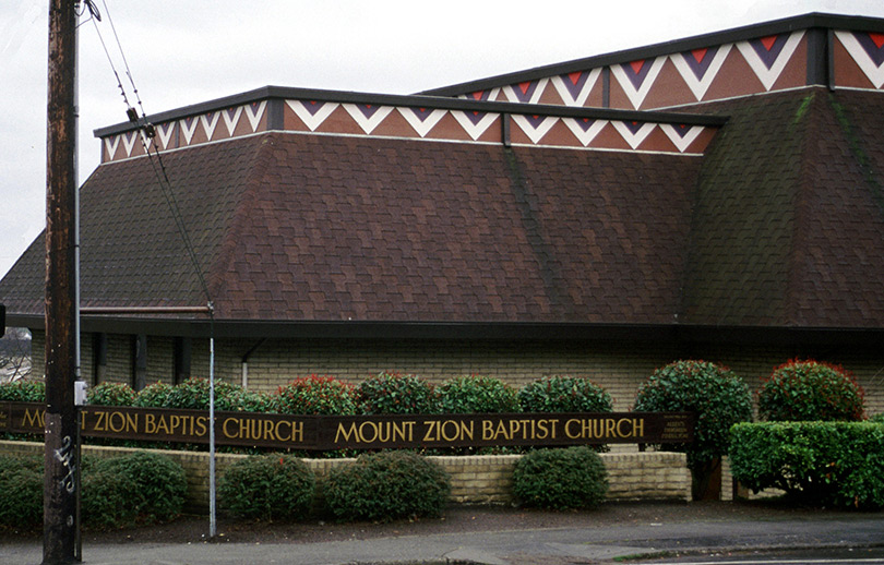 Mount Zion Baptist Church, Seattle Heritage Sites