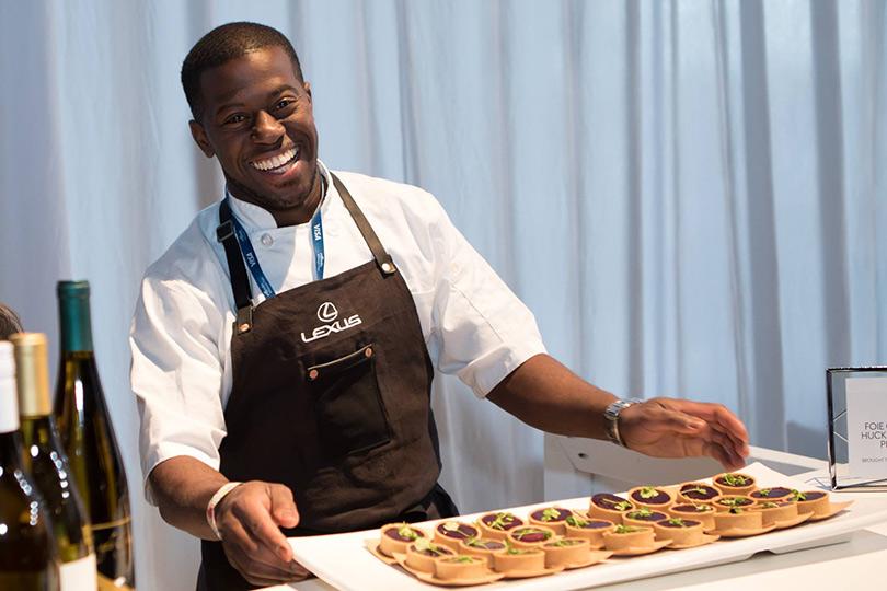Edouardo Jordan the chef-owner of Salary, Seattle Restaurants