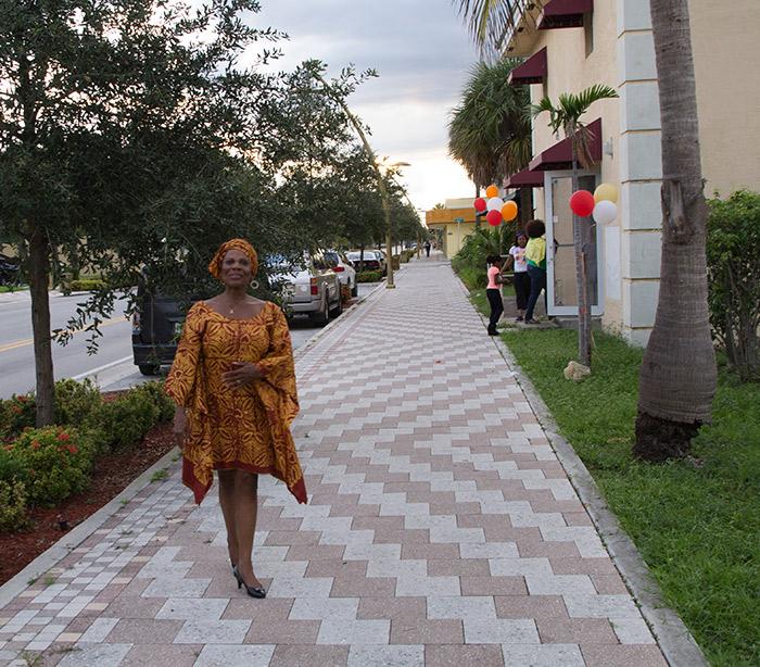 Dr. Kitty Oliver on Sistrunk Boulevard, Fort Lauderdale