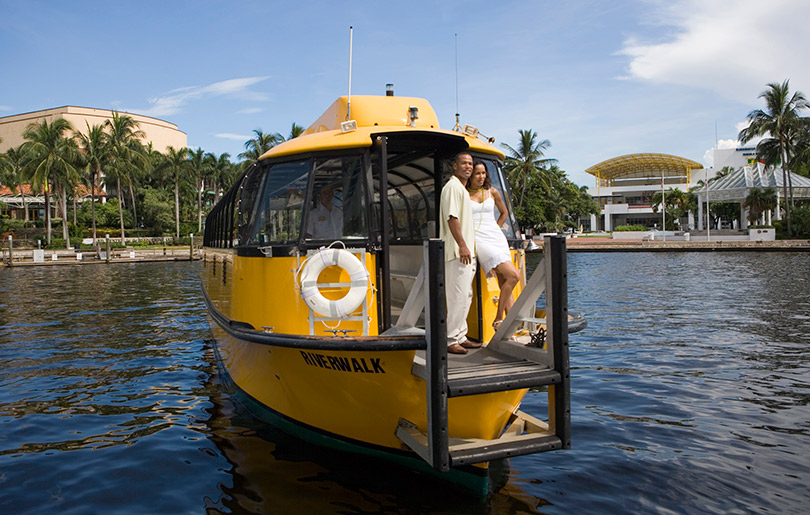 Take a Water Taxi on the Riverwalk, Fort Lauderdale General Attractions