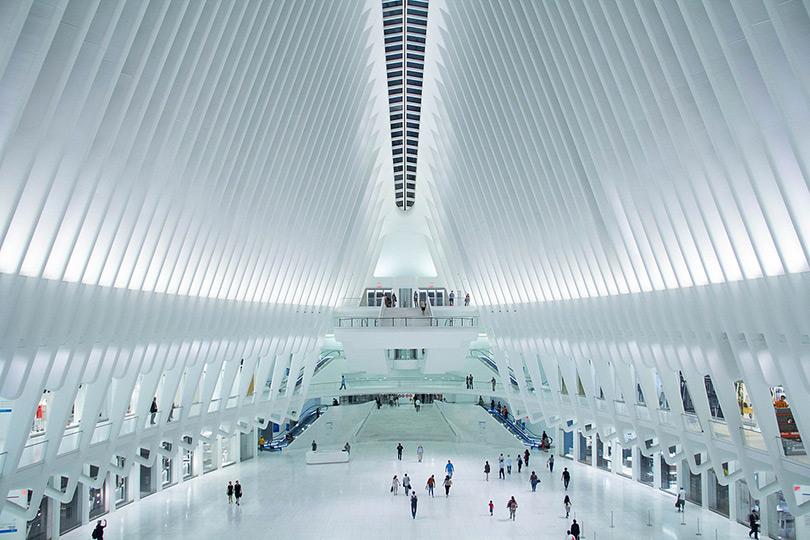 The Oculus in World Trade Center, New York City Transportation