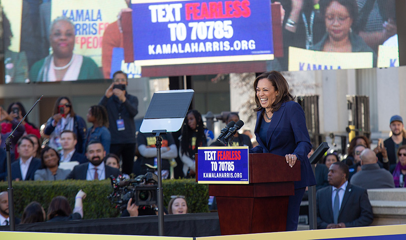 Kamala Harris announces presidential bid