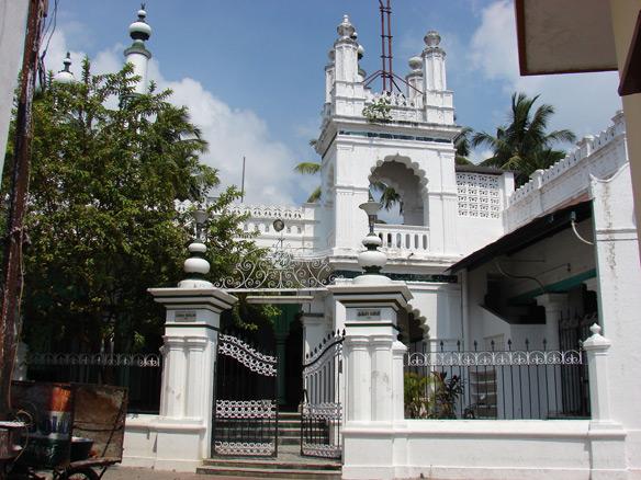 Masjid Kupta, a mosque in the Muslim Quarter