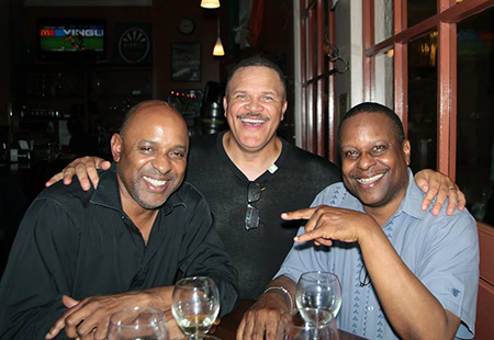 Donny Jones, Thomas Dorsey & Bob Davis at 30th Street Station, Philly