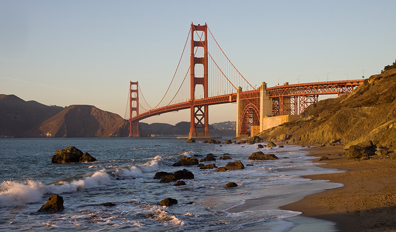 Golden Gate Bridge is the most recognizable attraction in San Francisco