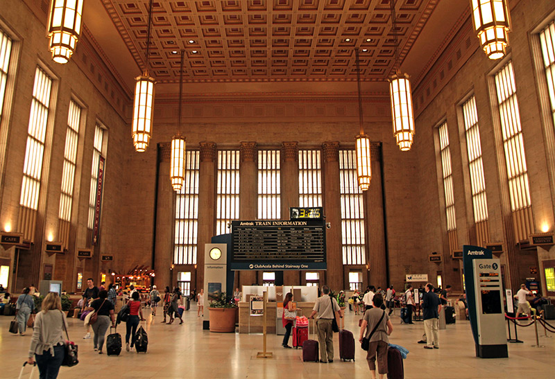 Philadelphia 30th Street Station, Interstate High Speed Rail Acela