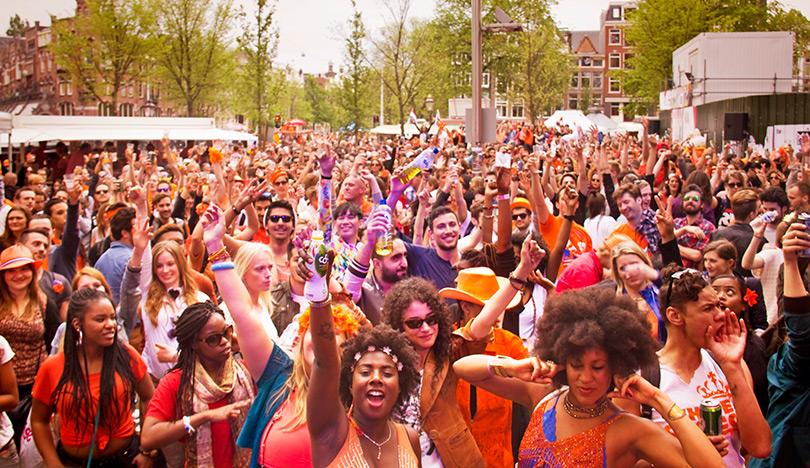International Black Travel, Celebrating King's Day in Amsterdam