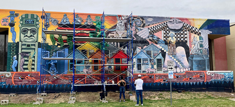 A Voyage to Soulsville mural