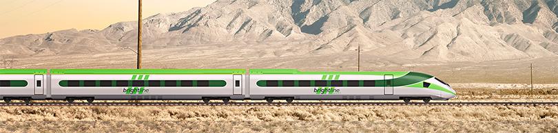 Interstate High Speed Rail Las Vegas-LA