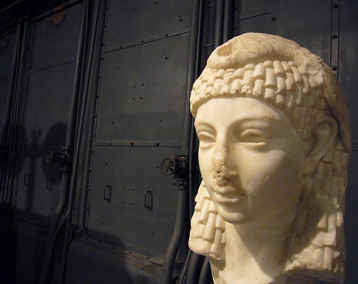 Cleopatra Bust at Capitoline Museum, Rome Museums